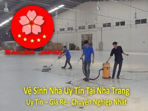Vệ Sinh Nhà Uy Tín Tại Nha Trang