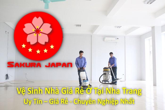 Dịch Vụ Vệ Sinh Nhà Giá Rẻ Ở Tại Nha Trang