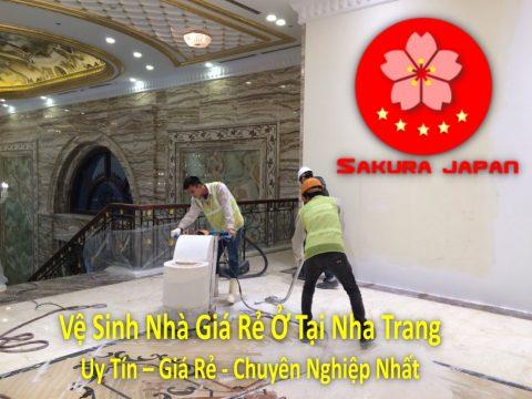 Vệ Sinh Nhà Giá Rẻ Ở Tại Nha Trang