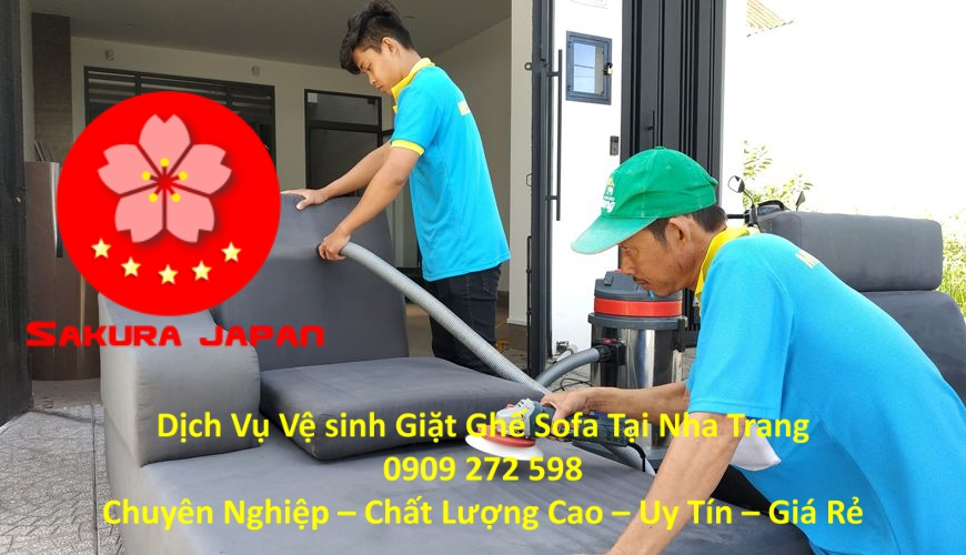 Dịch Vụ Giặt Ghế Sofa Tại Nha Trang Chuyên Nghiệp