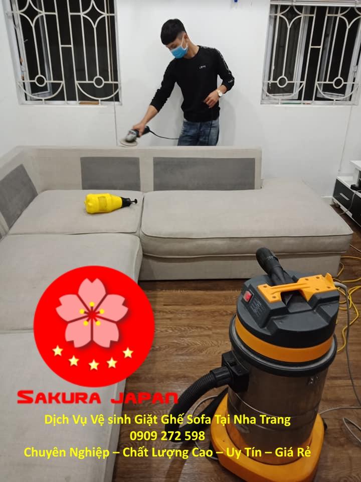 Dịch Vụ Giặt Ghế Sofa Tại Nha Trang Chuyên Nghiệp Giá Rẻ